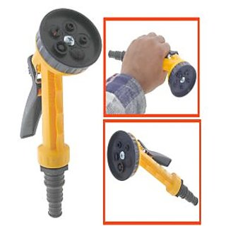 Plastic 5 Pattern Nozzle Clearing Water Spray Gun