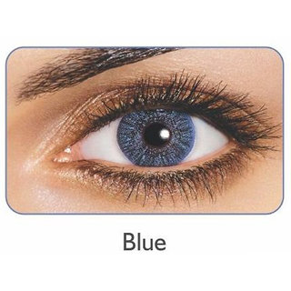 Freshlook Monthly Disposable color Contact lens plano (2 lens per box) Blue