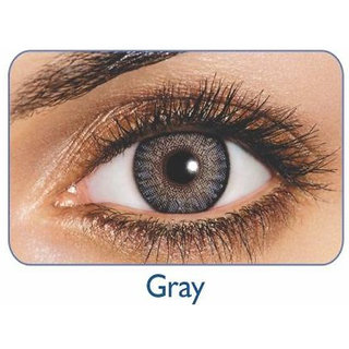 Freshlook Monthly Disposable color Contact lens plano (2 lens per box) Grey