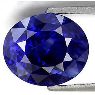 7 ratti/ 6.3 carat 100 original blue sapphire (nilam)  by lab certified
