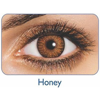 Freshlook Monthly Disposable color Contact lens plano (2 lens per box) Honey