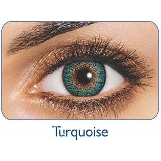 Freshlook Monthly Disposable color Contact lens plano (2 lens per box) Turquoise