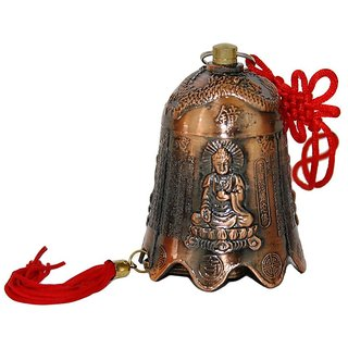 Huge Buddha Pagoda Prosperity Bell For Luck And Good Chi Energy