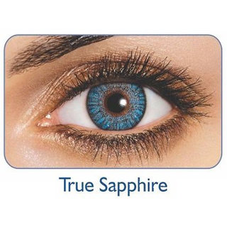 Freshlook Monthly Disposable color Contact lens plano (2 lens per box) True Sapphire