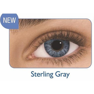 Freshlook Monthly Disposable color Contact lens plano (2 lens per box) Sterling Grey