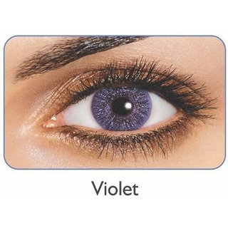 Freshlook Monthly Disposable color Contact lens plano (2 lens per box) VOILET