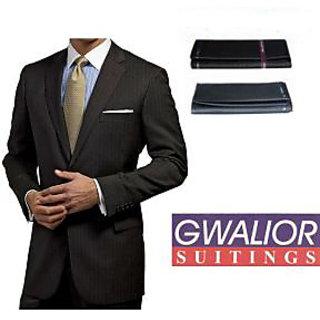Gwalior Black Suit Length Unstitched, 3 Meter