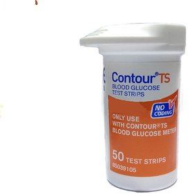 Bayer Contour TS 50 Test Strips Without Box Expiry APRIL 2019