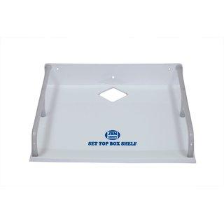 Set Top Box Stand - Acrylic White - Big