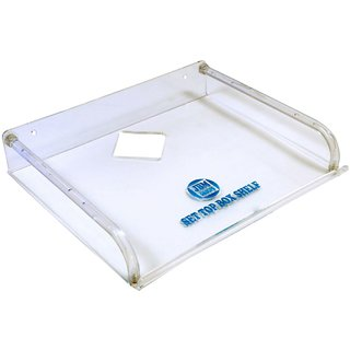 Set Top Box Stand - Acrylic Transprent -Small