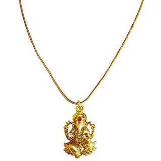 Buy menjewell new collection gold revlis divine lord ganesha design menjewell new collection gold revlis divine lord ganesha design pendant for men amp boys mozeypictures Gallery