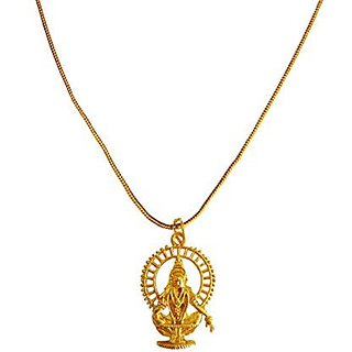 Menjewell new collection gold lord ayyappa swami design pendant menjewell new collection gold lord ayyappa swami design pendant for men boys mozeypictures Gallery