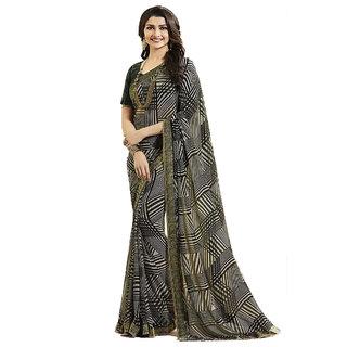 Dhanu Fashion Bollywood Designer Mehandi Color Georgette Saree