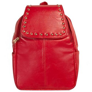 3963a5936b71 Buy Louise Belgium PU Leather Backpack For Women Stylish - Zip Closure  Backpack Bags For Girls Online - Get 73% Off