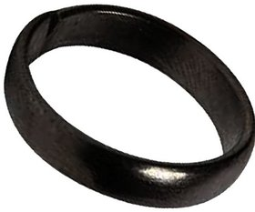 Shani Dosha Niwaran Black Horse Shoe Iron Ring Shani Chhalla Kale Ghode Ki Naal Ring for Men and Women