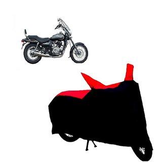 Blays Black-Red-Premium Matty Bike Body Cover For Bajaj Avenger 220 Cruise