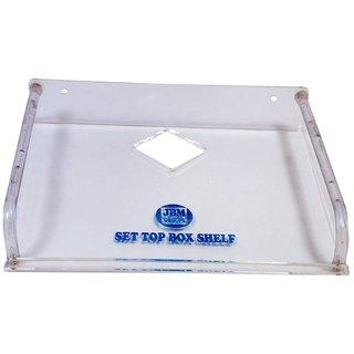 Set Top Box Stand - Acrylic Transprent -Big