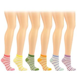 Ankle Socks For Girls/Womens- 3 Pairs