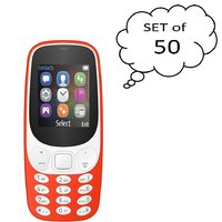 Set Of 50 I Kall K3310 (1.8 Inch Dual Sim Multimedia Mo