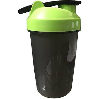 CP Bigbasket Gym Shaker, Sipper 400 ml Green (Pack of 1)