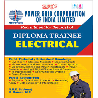 Power Grid Corporation Of India Ltd ( PGCIL ) Diploma Trainee Electrical Exam Books