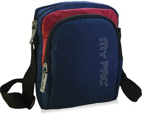 mypac-ViVaa Polyester unisex Sling bag blue C11582 -5