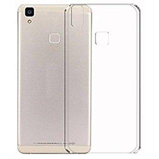 ECS Transparent Soft Back Case Cover For Lava Z80