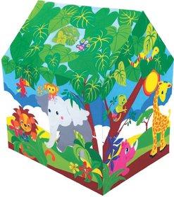 Kirat Colorfull Safari Play Tent House for Kids By Krasa