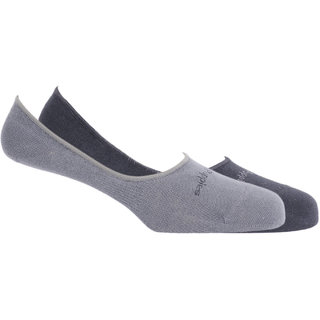 Hush Puppies Mens Loafers No-Show Invisible Length Socks Plain Pack Of 2 Pair