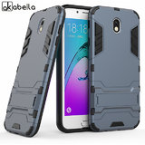 Samsung Galaxy J7 Pro Robotic Back Cover.Kickstand Hard Dual Rugged Armor Hybrid Bumper Case
