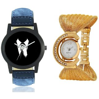 golden glory and professional combo watch