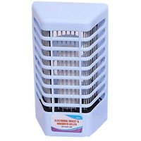 Hanumex GOOD QUALITY Combo Offer Set Of 2 Pcs. Electronic Mosquito N Insect Killer Cum Night Lamp (WHITE AND BLUE) In Best Price