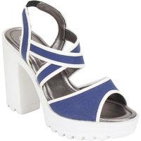 CATWALK Blue WEDGES Heels - 131750024