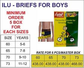 ILU BRIEFS FOR BOYS - 6PCS PACK