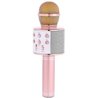 Kss Wireless Bluetooth Microphone Recording Condenser Handheld Microphone