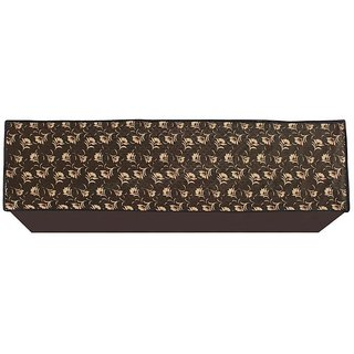 Glassiano Floral Printed AC Cover for Split Indoor Unit for 1.5 Ton