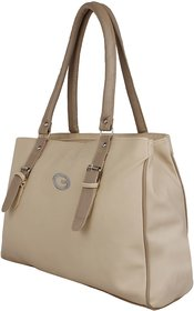 VARSHA FASHION ACCESSORIES WOMEN HANDBAG BEIGE 23 1f4b52bb98826