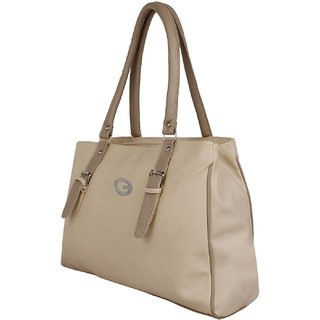 VARSHA FASHION ACCESSORIES WOMEN HANDBAG BEIGE 23
