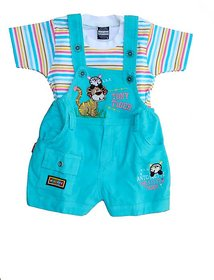 Baby dungree for kids(Cotdroy) (Blue)