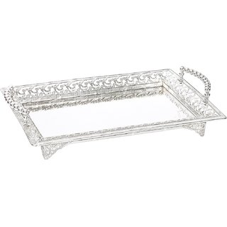 df895bc1a20a9 Buy EKAANI Silver Plated Tray