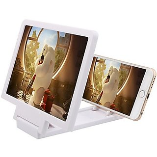 Universal Mobile Phone 3D Video Magnifier Enlarged Screen Reading Watching