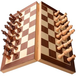 Triple S Handicrafts 12 Magnetic Chess Board Game