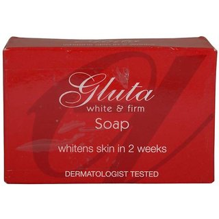 Gluta White And Firm Soap Whiten Skin in 2 Week Soap 90g (Pack Of 1)