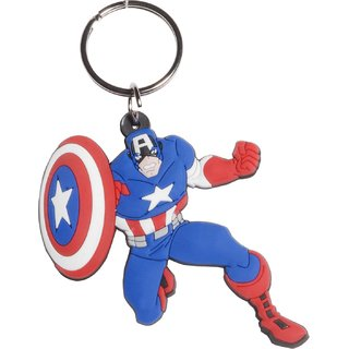 Buy STAYFiT Captain America Rubber Keychain (Multicolor) Online - Get 70%  Off 68fd0e863e