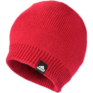 Buy Adidas Winter Red Wollen Cap for Men Online   ₹399 from ShopClues e5c844d54d3