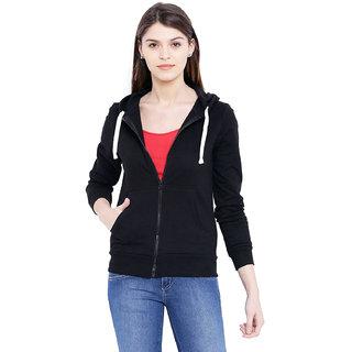 Ausehen Women Black Sweatshirts