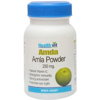 Buy 1 Get 1 Free HealthVit AMDA Amla Powder 250 Mg 60 Capsules  (Pack Of 2)