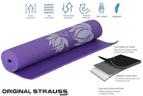 Strauss Yoga Mat, 6mm (Floral)