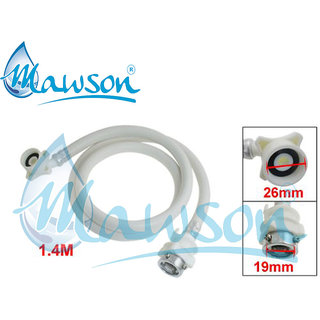 MAWSON Inlet Hose Pipe 3 Mtr for Fully Automatic Washing Machines with Tap Adaptor