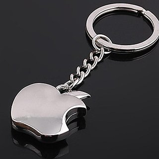 Apple Logo Keychain